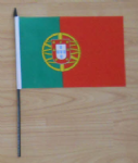 Portugal Country Hand Flag - Medium.